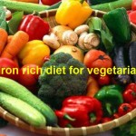 Iron Rich Vegetarian Diet for Anemia